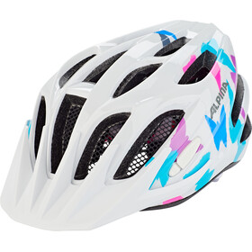 Alpina FB Jr. 2.0 Casco Jóvenes, white bttrfly